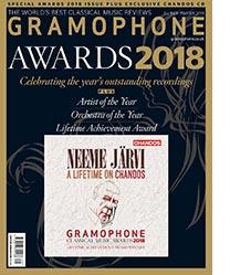 Gramophone cover, October 2018