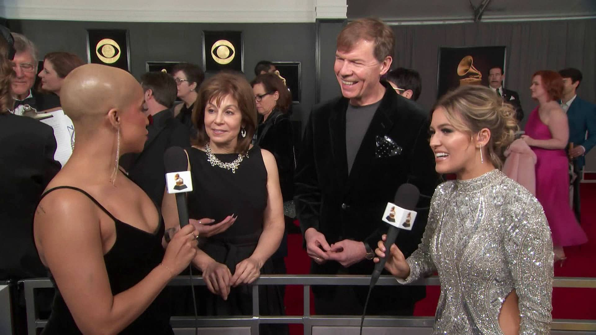 Kenneth Fuchs and JoAnn Falletta on the red carpet before their album won the 2018 GRAMMY Award for Best Classical Compendium, February 10, 2019